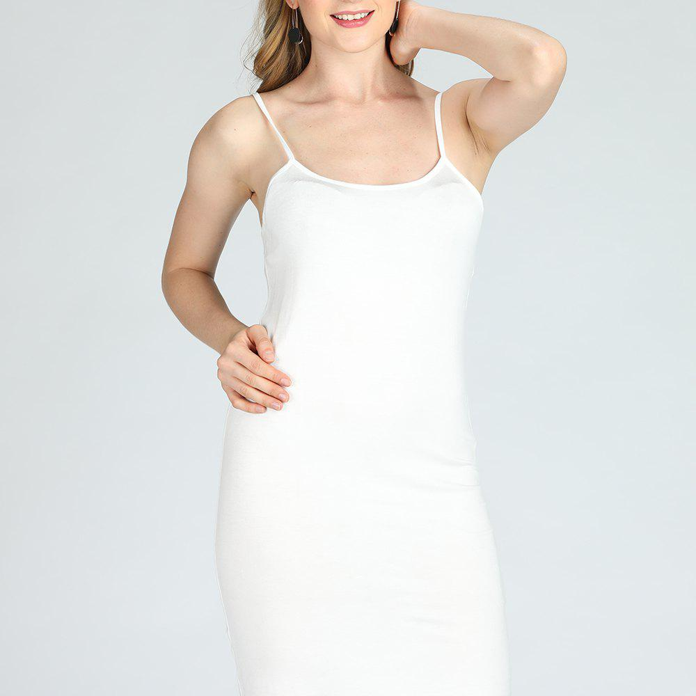 Fashion SBETRO Solid Cami Sling Dress Casual Women