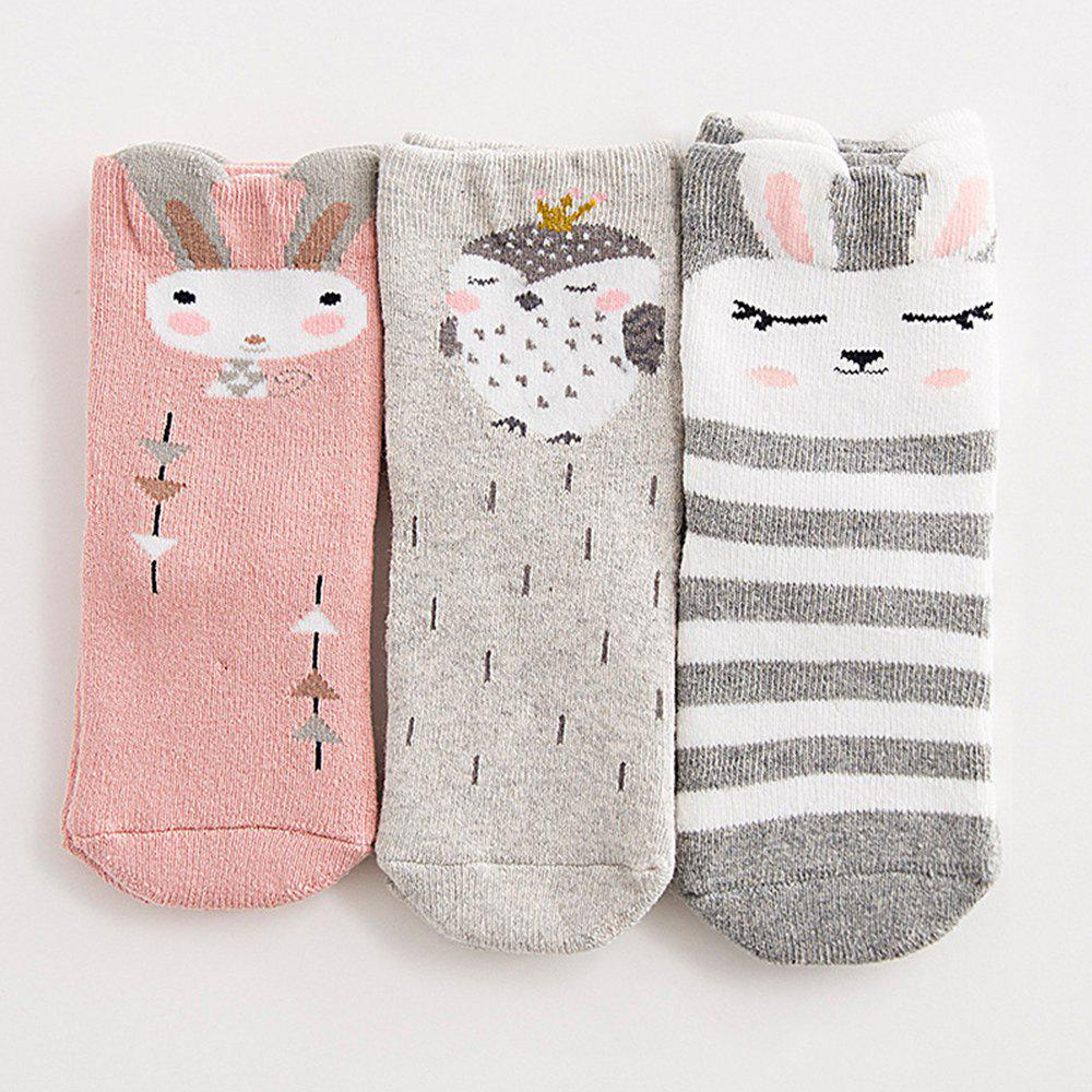 Outfits Thick Cotton Cute Cartoon Baby Child Warm Socks