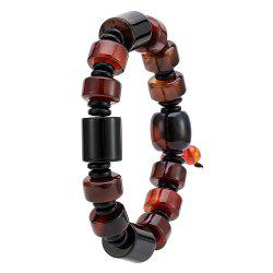 Retro Temperament Men's Bracelet Natural Color Agate Hand String -