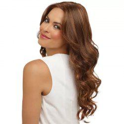 Mid Point Curls Wave Roll Europe Ms Headgear High Temperature Wire Wig -