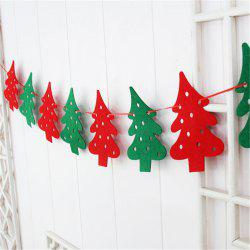 Christmas Decoration Flag DIY Christmas Flag Banner Christmas Tree Decoration Ho -