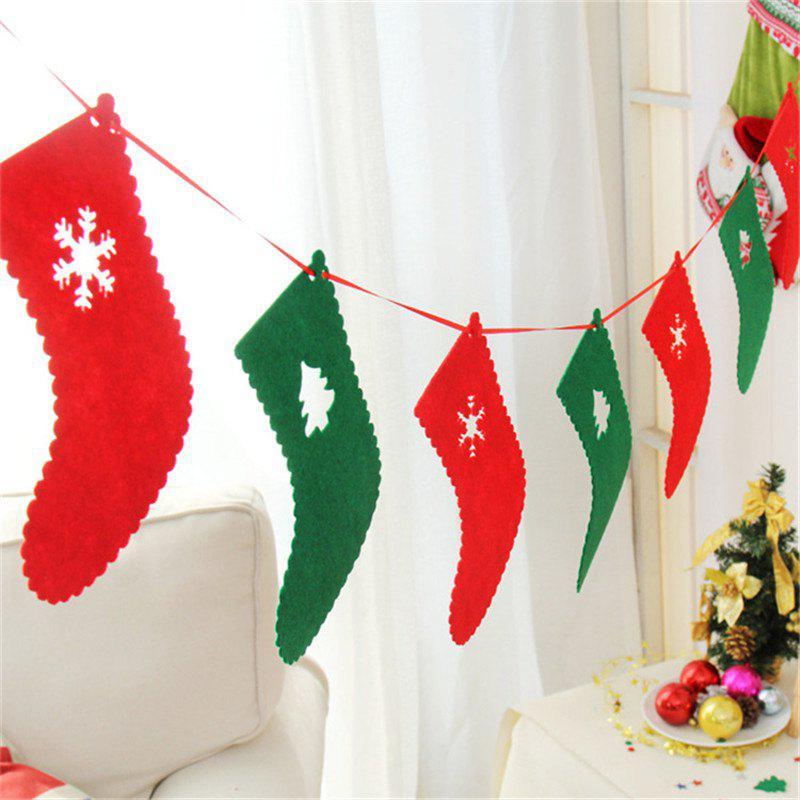 Best Christmas Decoration Flag DIY Christmas Flag Banner Christmas Tree Decoration Ho