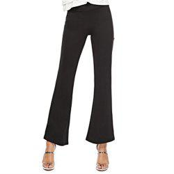 Women'S Stretch Casual Pants High Waist Flared Pants -