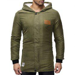 2018 Men'S Long Thick Hooded Jacket -