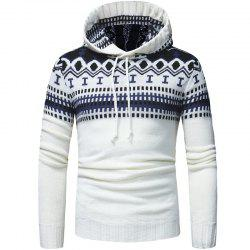 New   Fashion Classic Hat Design Men's Casual Knitted Sweater -