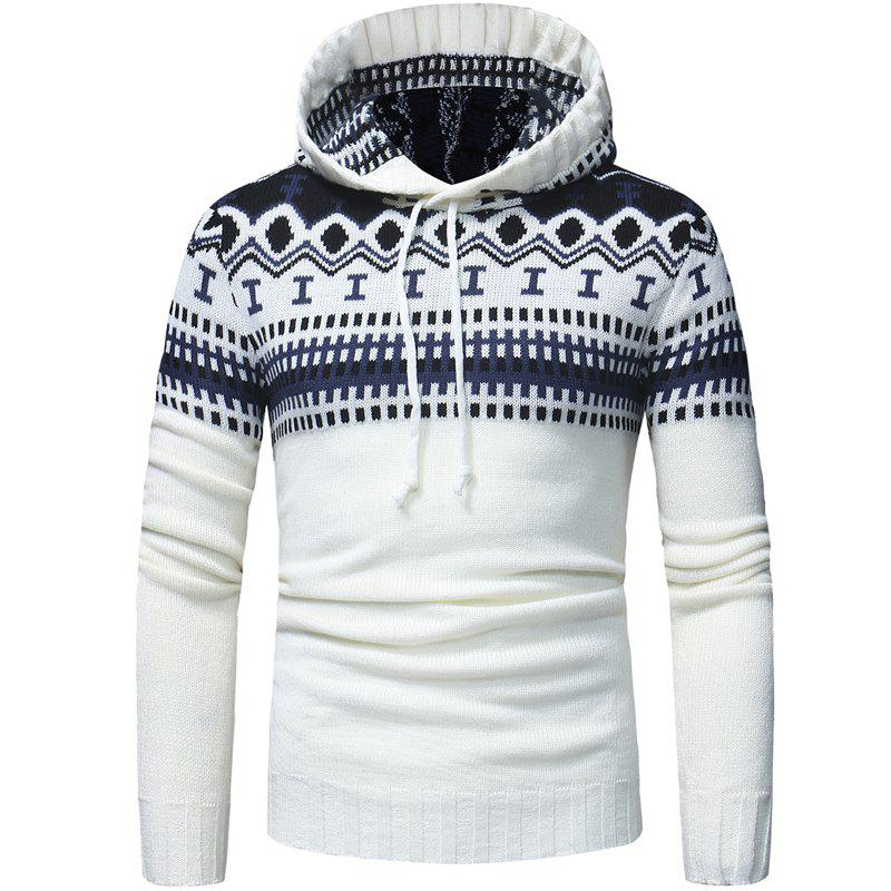 Store New   Fashion Classic Hat Design Men's Casual Knitted Sweater