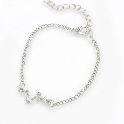 Bracelet de fréquence cardiaque Lightning Simple Fashion -