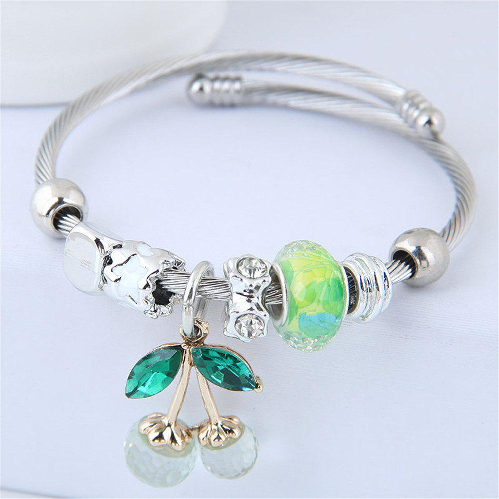 Shops European Style Fashion Metal Cherry Bracelet Accessories