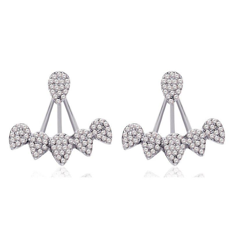 Store European Style Fashion Rhinestone Drop Ear Jacket