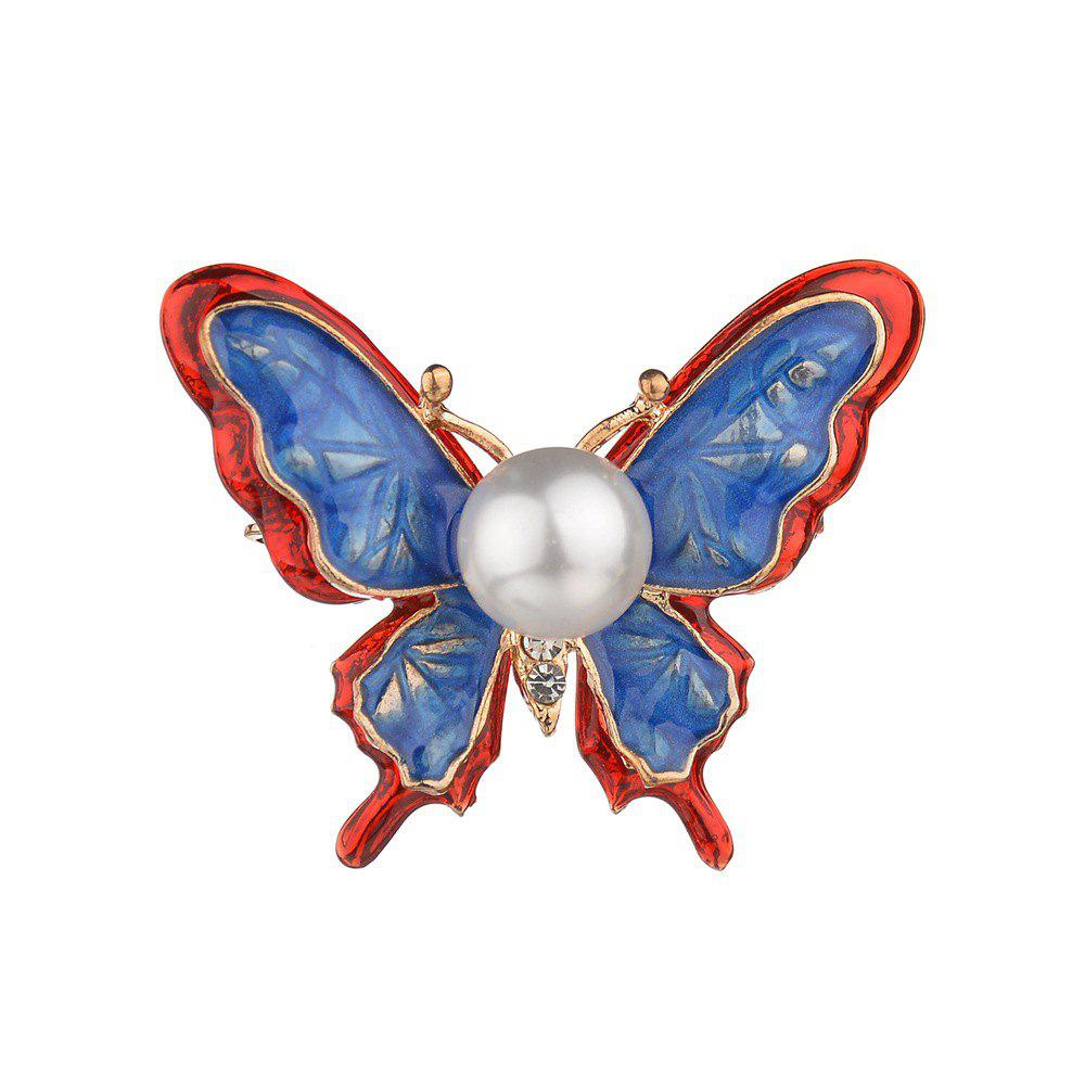 Discount Upscale Ladies Fashion Stereo Butterfly Brooch Female