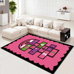 Home Rug Creative Washable Living Room Bedroom Carpet -