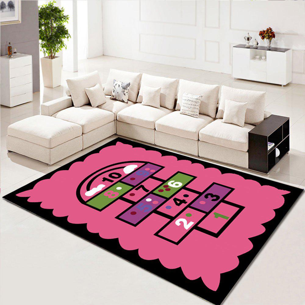 Chic Home Rug Creative Washable Living Room Bedroom Carpet