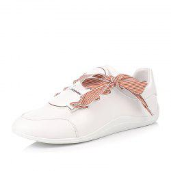 Louise Et Cie with Bow-Tied Leather Little White Shoes -