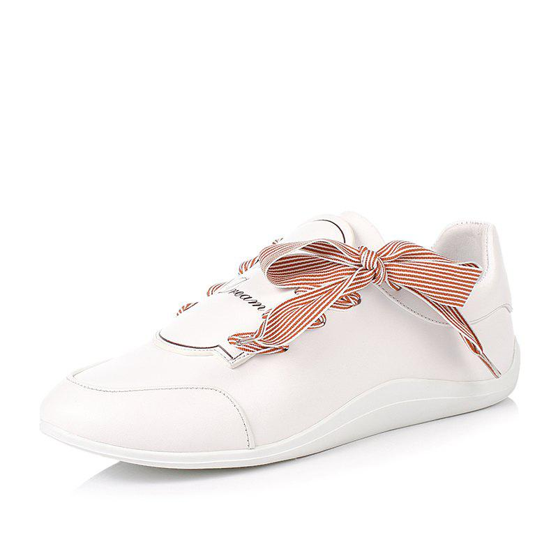 New Louise Et Cie with Bow-Tied Leather Little White Shoes