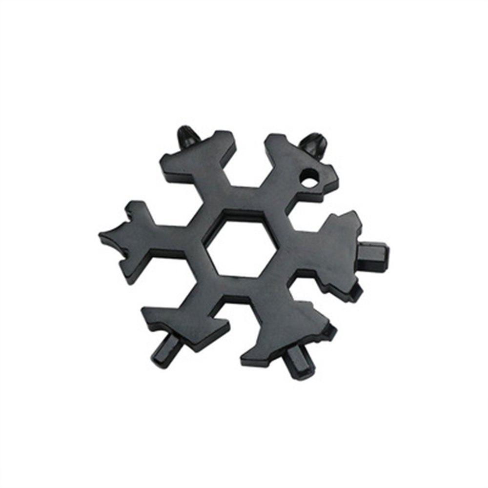 Affordable Creative Multi-Function Snowflake Gadget Can Be Used As A Keychain