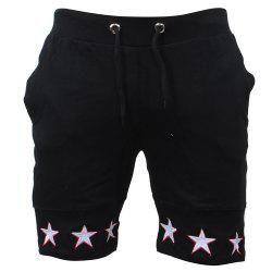 Mens Shorts Gyms Fitness Bodybuilding Workout Sporting Pants Sweatpants Sport -
