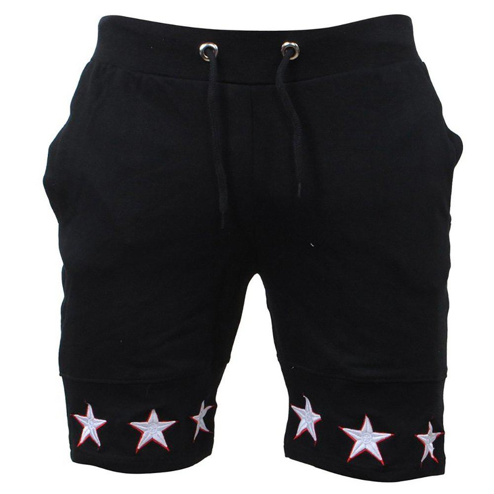 Cheap Mens Shorts Gyms Fitness Bodybuilding Workout Sporting Pants Sweatpants Sport