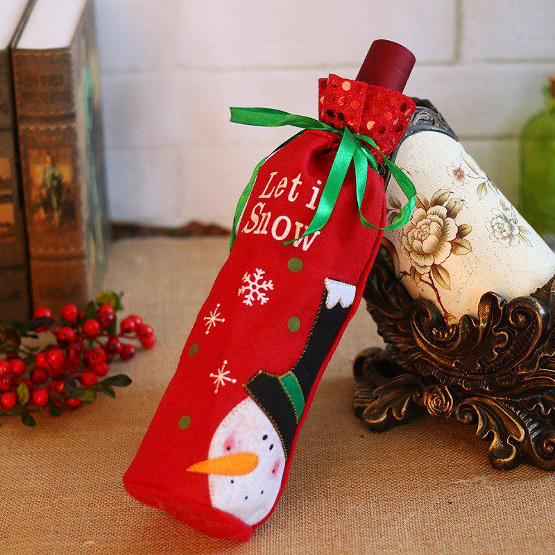 Buy Christmas Decoration Red Wine Bag Gift Bag MG17H307