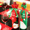 Christmas Decoration Red Wine Bag Gift Bag MG17H307 -