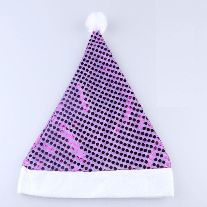 Discount Hot Style Sequined Christmas Hat