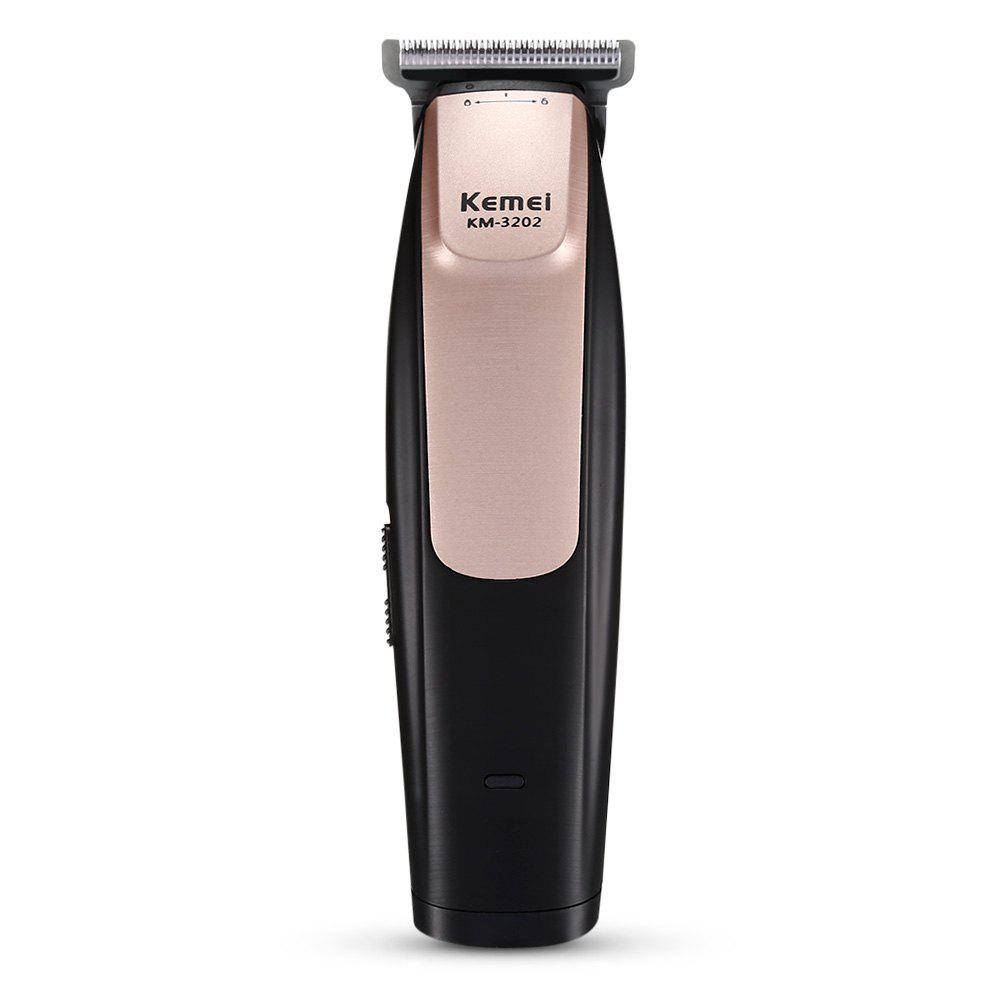Chic Km-3202 Electric Hair Clipper Rechargeable Shaving Engraving Hair Clipper