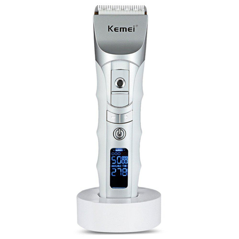 Latest Kemei Km-838 Lcd Speed Smart Hair Clipper Hair Clipper Hair Clipper