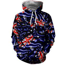 3D Fashion Ladies Print Rice Figure Hoodie -