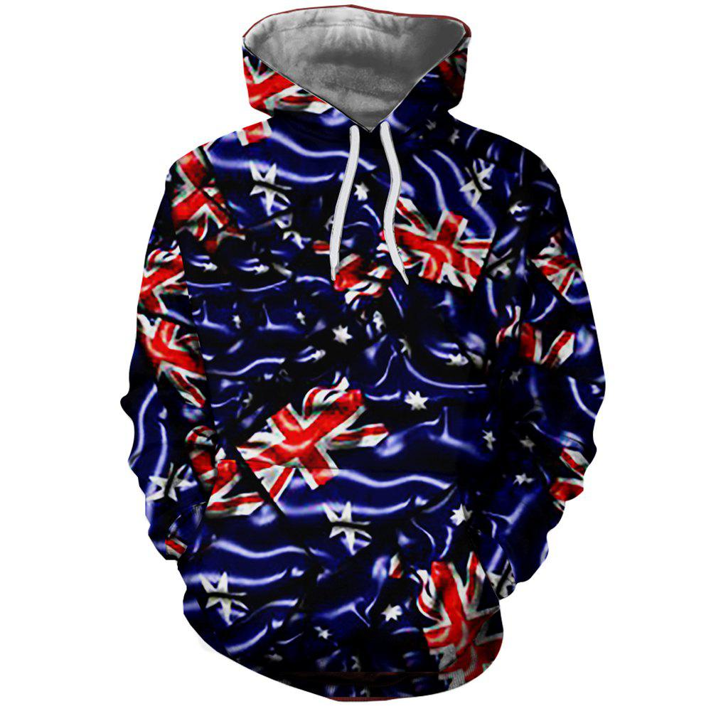 Fashion 3D Fashion Ladies Print Rice Figure Hoodie
