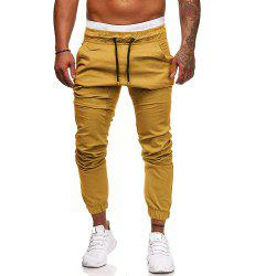 Men's Fashion Casual Tether Elastic Sports Pants Trousers Sweatpants -