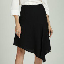SBETRO Solid Skirt Dressy Casual Officewear for Ladies -