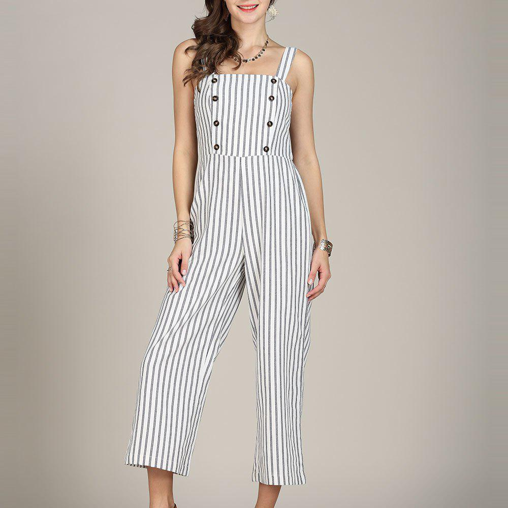 New SBETRO Striped Women Jumpsuit Rompers