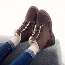 Winter New Warm Snow Boots High To Help Outdoor Casual Shoes Cotton Shoes Wo -