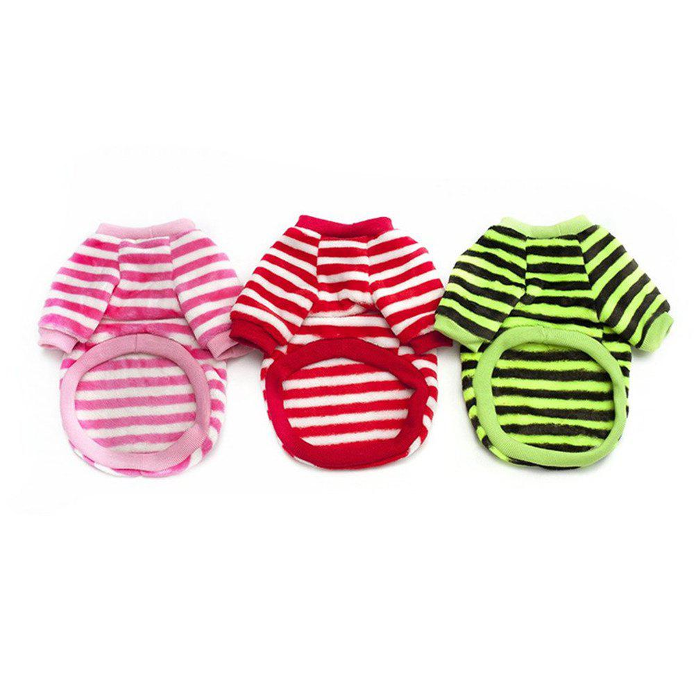 Fancy 3PCS Warm and Thickened Two-Legged Pet Clothing Comfortable