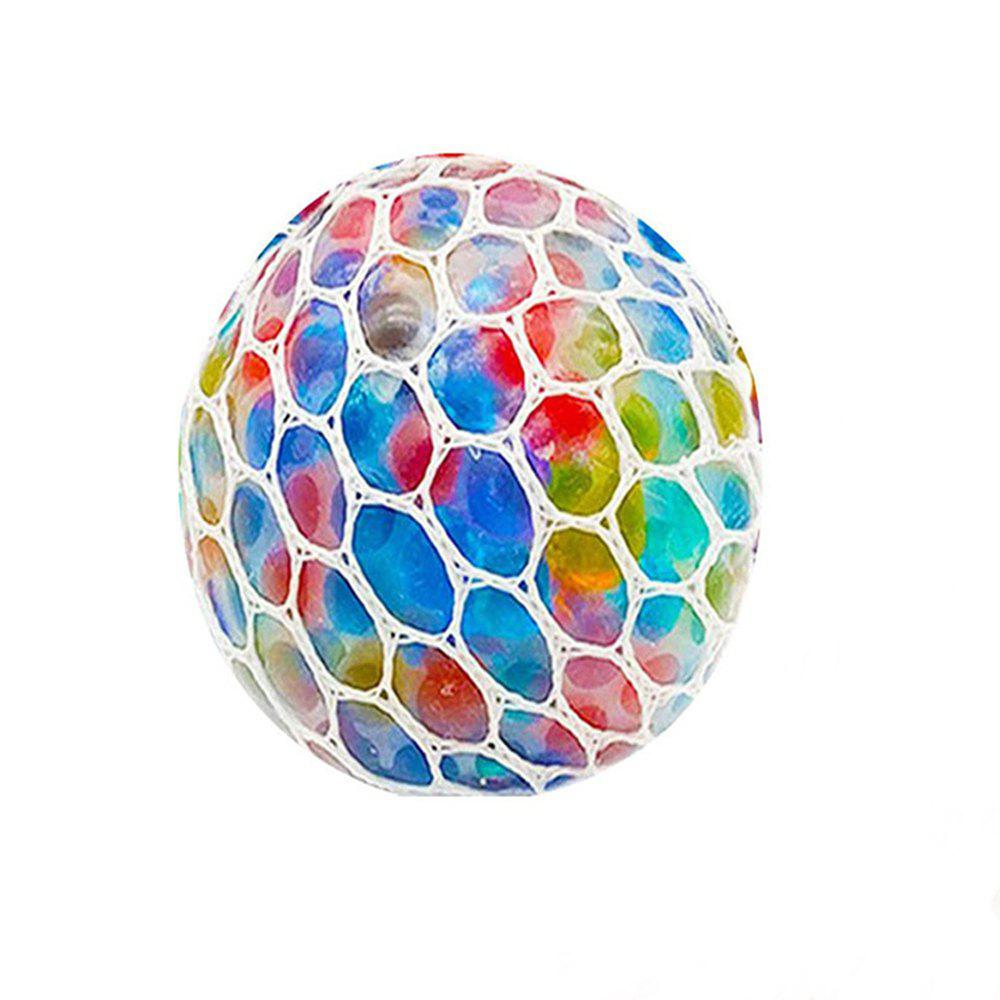 Latest Kid's Decompression Toy Colored Grape Ball  Creative Toy
