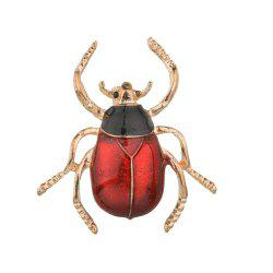 Fashion Creative Cute Insect Beetle Brooch -