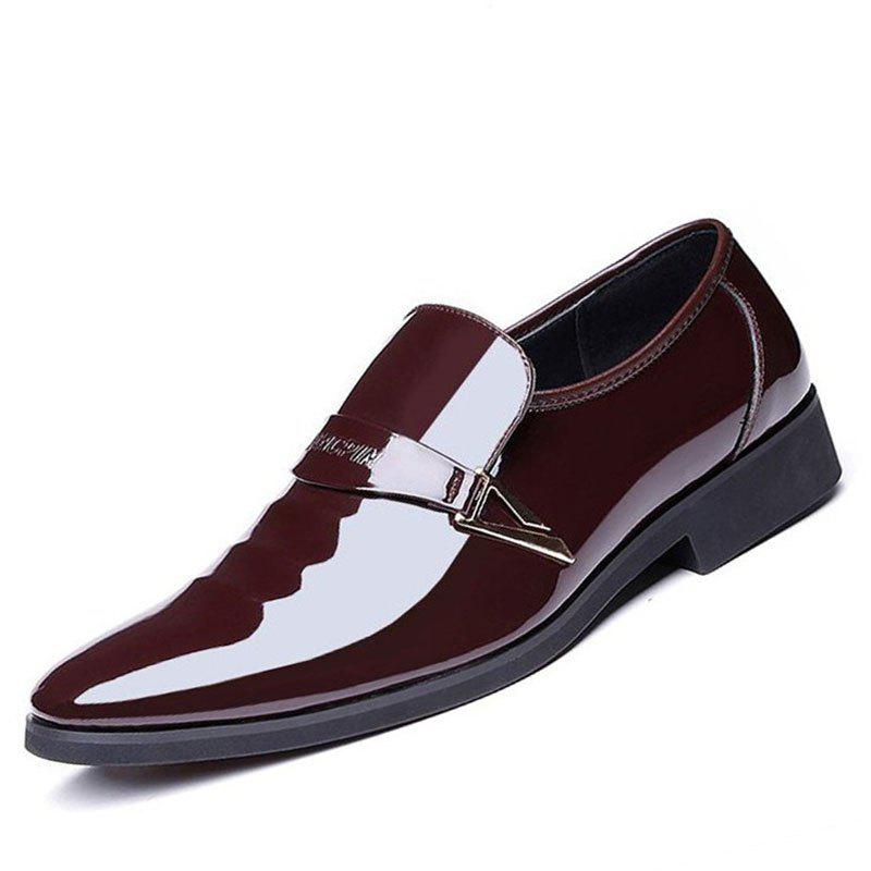 Chic Men's Pointy Tide New Autumn Fashion Men's Business Dress Shoes