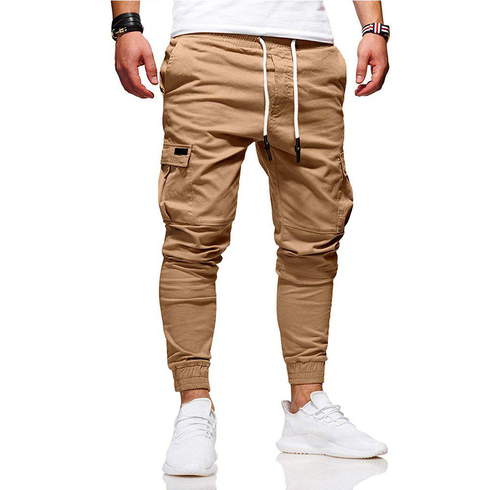Hot New Pattern  Fashion Classic Pocket  Tether Slack Pants Trousers Sports Pants