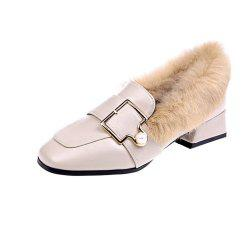 New Winter Warm and Cotton Shoes Fluffy Shoes -