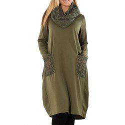 6XL Large Size Women Dress Loose Long Sleeve Dress Plus Size Women -