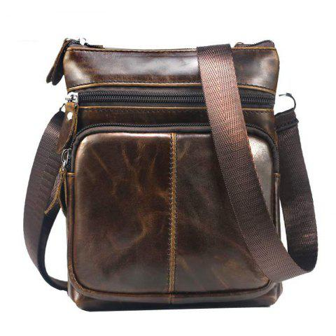 dfb8dde19d48 Men Casual Crossbody Male Fashion Genuine Leather Mini Shoulder Messenger  Bag