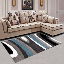 Bedroom Rug Simple Geometric Pattern Washable Living Room Carpet -