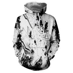 3D Sports Winter Snow Mountain Landscape Printing Lady Hoodie -