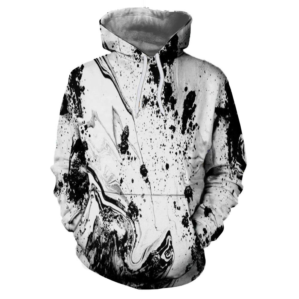 Buy 3D Sports Winter Snow Mountain Landscape Printing Lady Hoodie