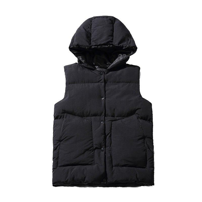 Shops Down Jacket Vest Jacket Vest Men's Vest Cotton Clothing