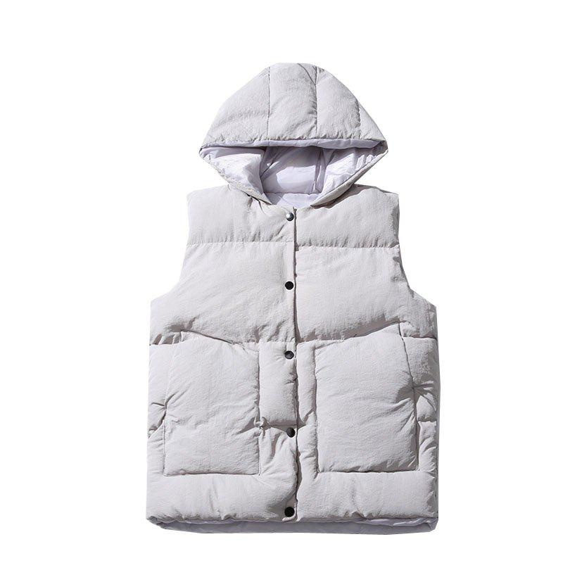 Outfits Down Jacket Vest Jacket Vest Men's Vest Cotton Clothing
