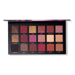 UCANBE Brand 18 Colors Eyeshadow Makeup Palette Matte Chrome Long Lasting Cosme -