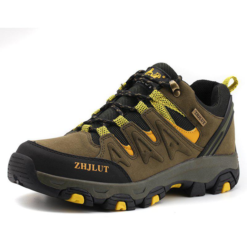 Store Men Wear-Resistant Non-Slip Breathable Leisure Outdoor Sports Hiking Shoes