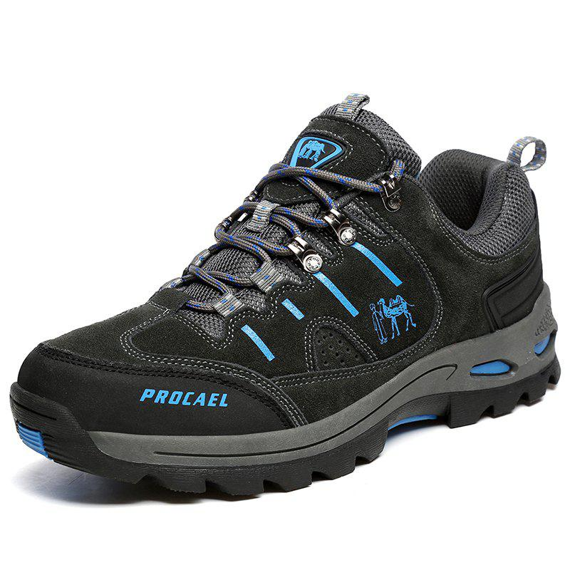 Latest Men Leisure Outdoor Sports Breathable Wear Non-Slip Hiking Shoes