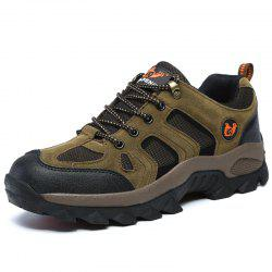 Large Size Suede Men Leisure Outdoor Sports Wear Non-Slip Hiking Shoes -