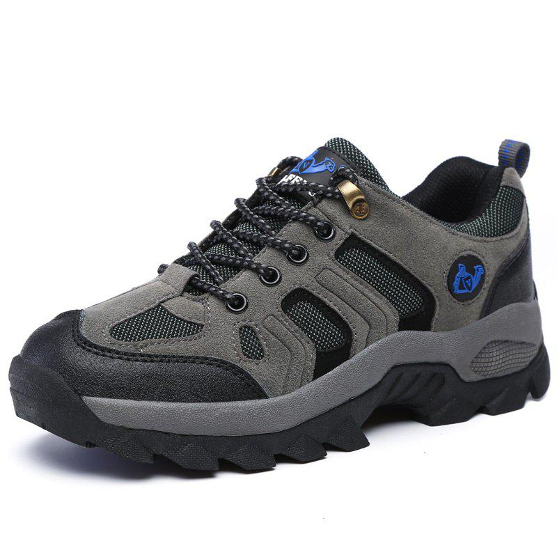 Latest Large Size Suede Men Leisure Outdoor Sports Wear Non-Slip Hiking Shoes